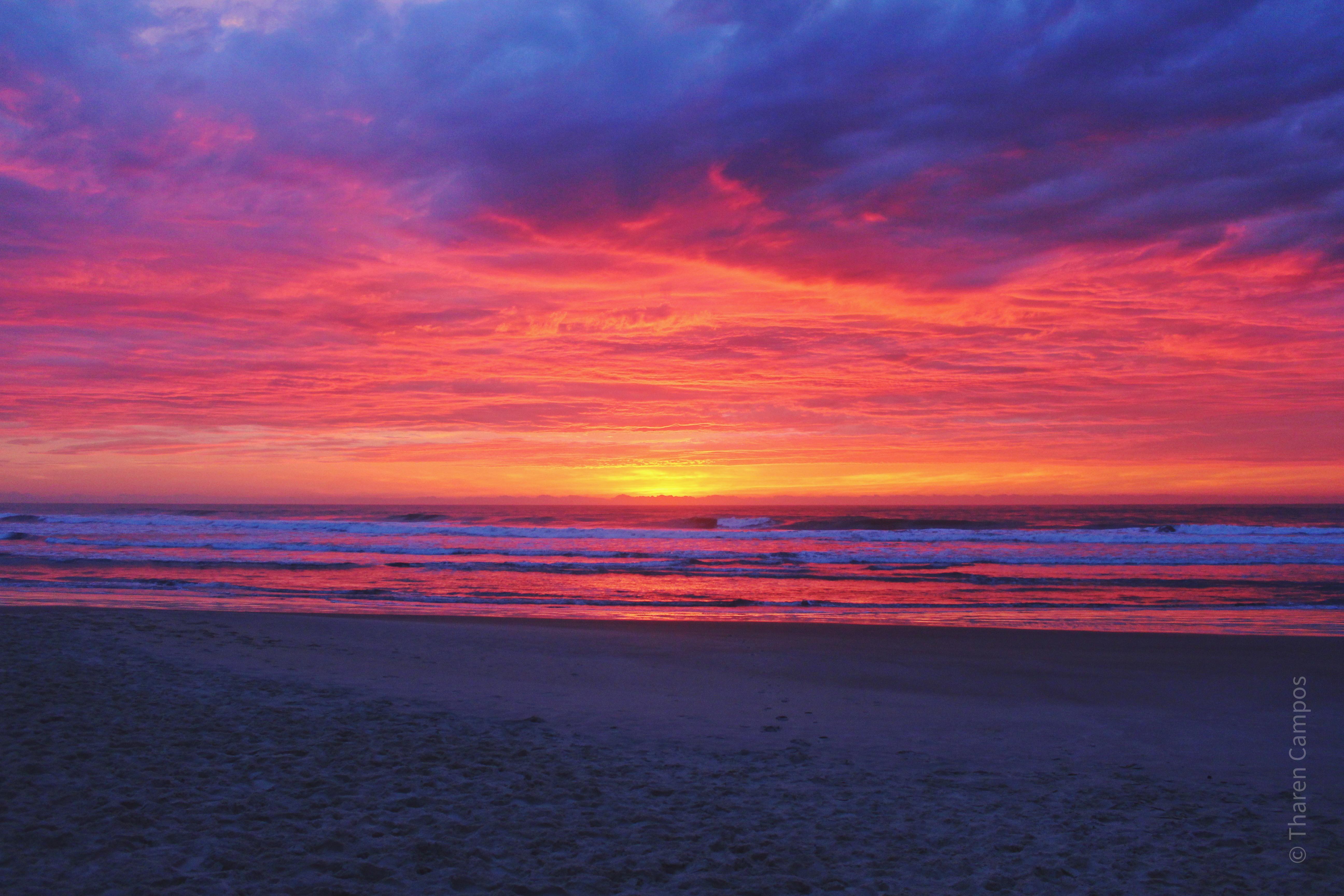 Nascer do sol - Praia do Rosa 1