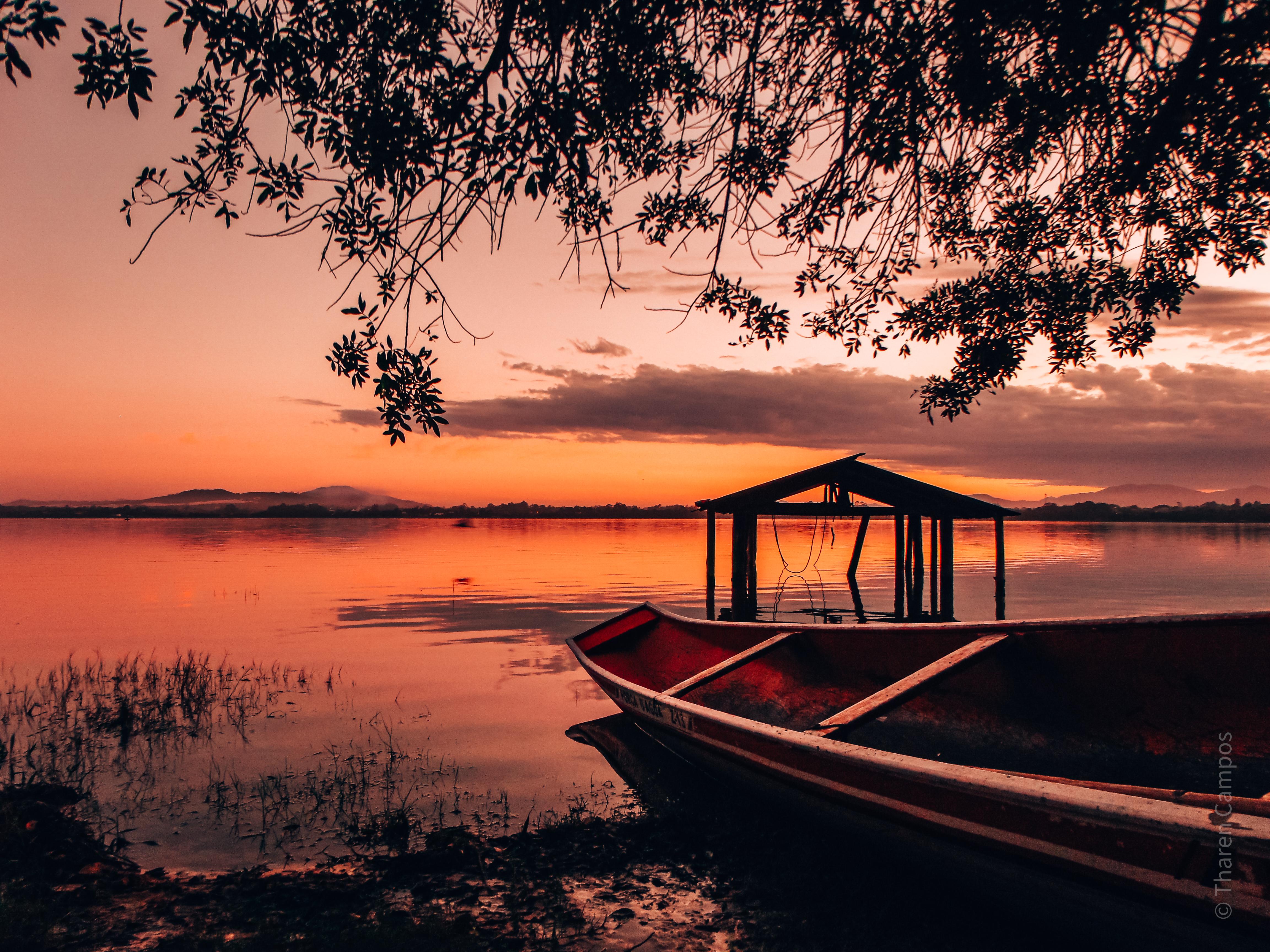 Lagoa de Ibiraquera - por do sol3