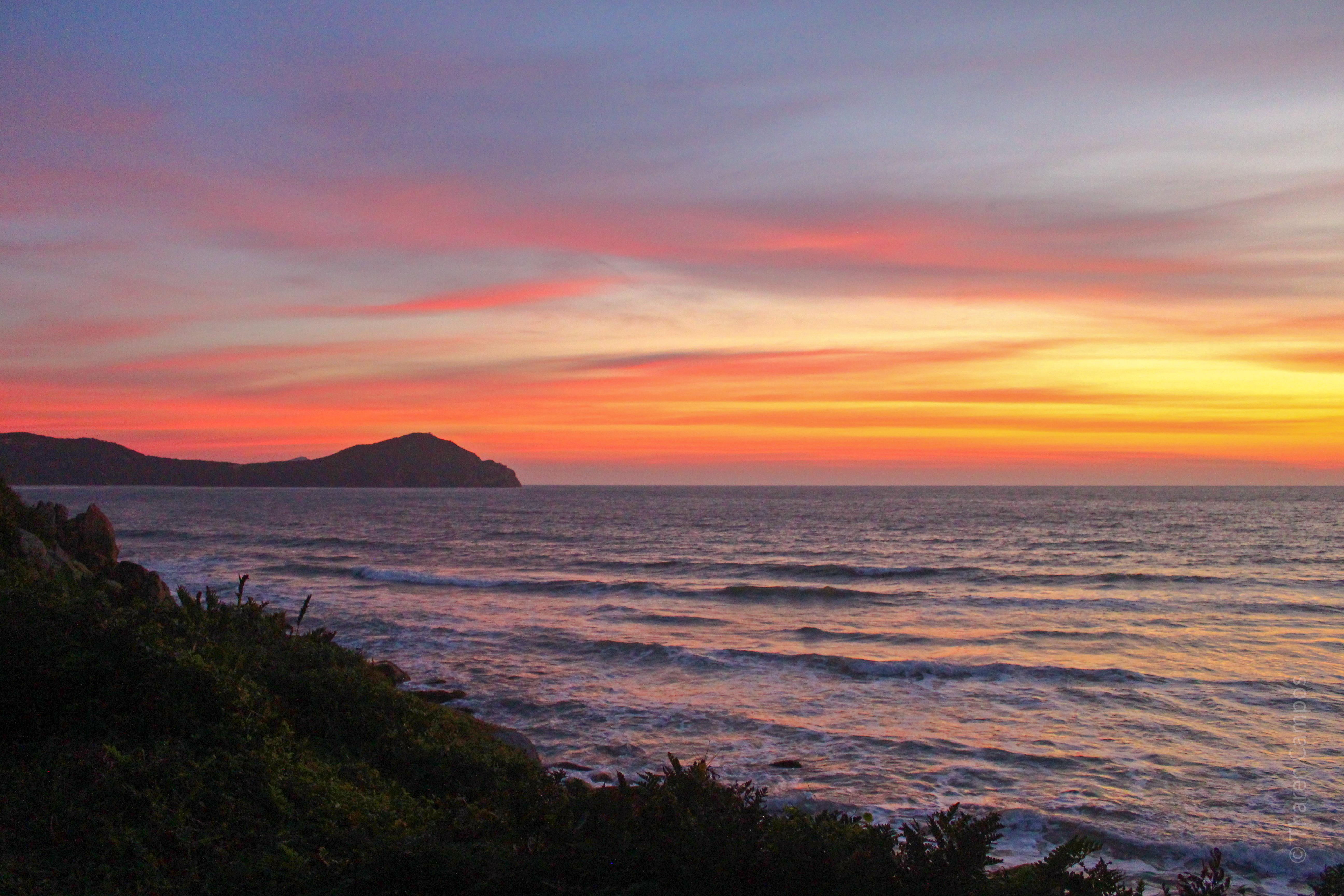 Nascer do sol - Praia do Rosa 6