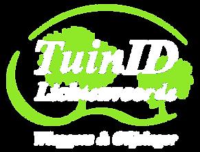 Logo TuinID klein, transparant, licht.pn