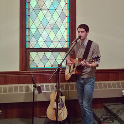 Leading worship in Dalesburg