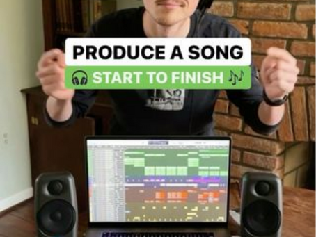 How To Produce a Song Start to Finish