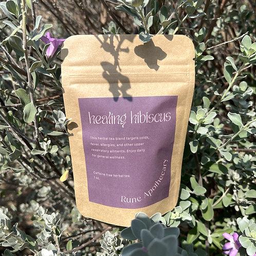 Healing Hibiscus Tea