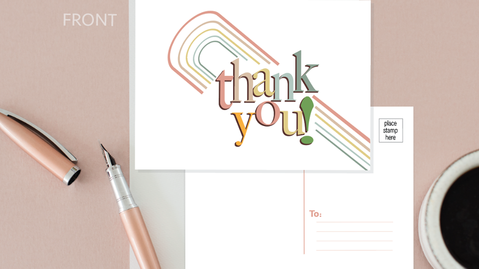 Thank You Happy Card