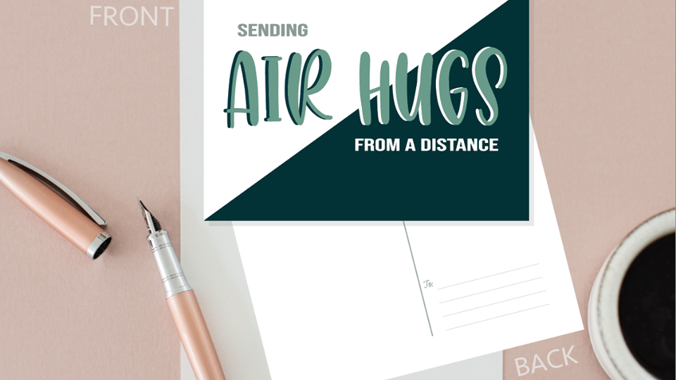Air Hugs Happy Card