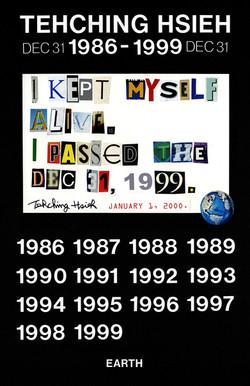 Tehching Hsieh 1986-1999 (Thirteen Year Plan, Image)