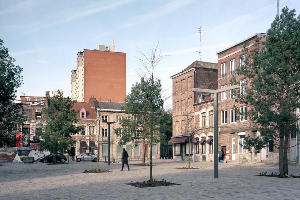 Place St Hubert, Lille
