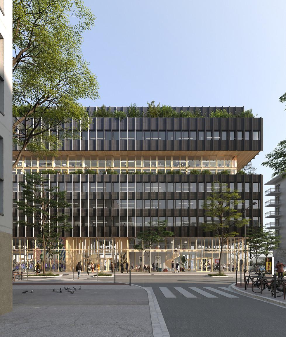 EcoStructure Siège Vinci, Rennes
