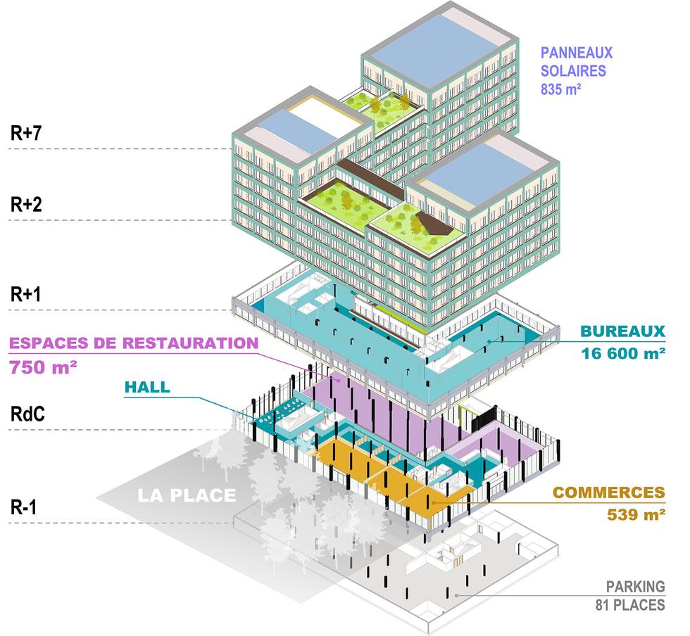 bâtiment Cime