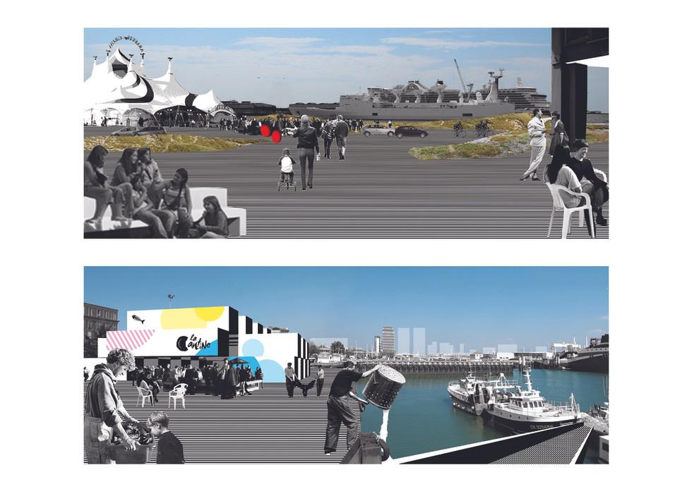 Quai Southampton, Le Havre_collage 02.jp