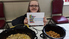 Lutheran Hotdish Cook off Winner 2017. M