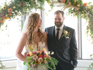 October Wedding at Valley Ridge Golf Club