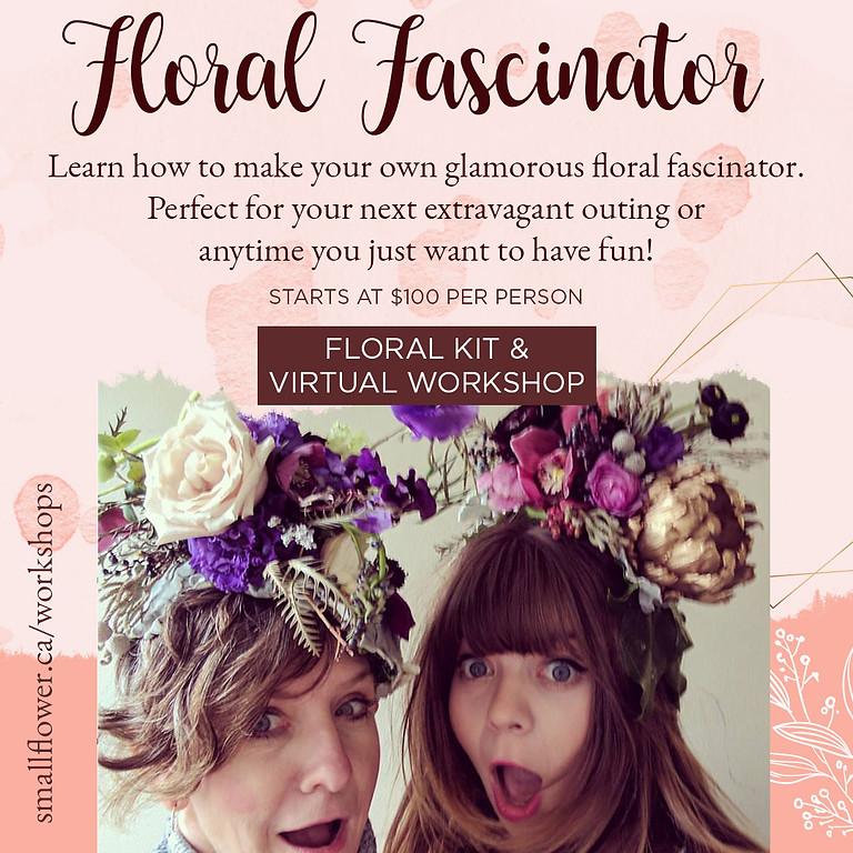 Floral Fascinator Kit and Virtual Workshop