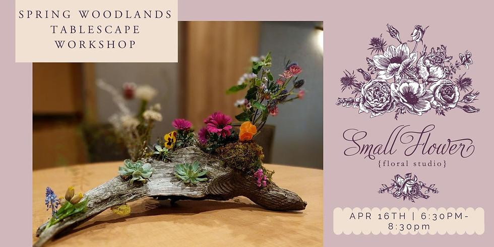 Spring Woodlands Tablescape Workshop