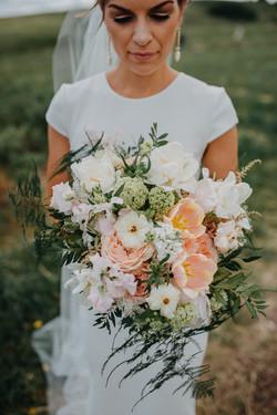 Small Flower Bridal Bouquet