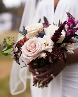 Jewel Tone Wedding with a hint of blush