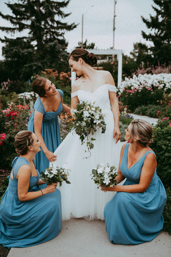The Bride and her tribe