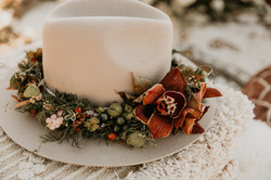 Cowboy Flower Crown