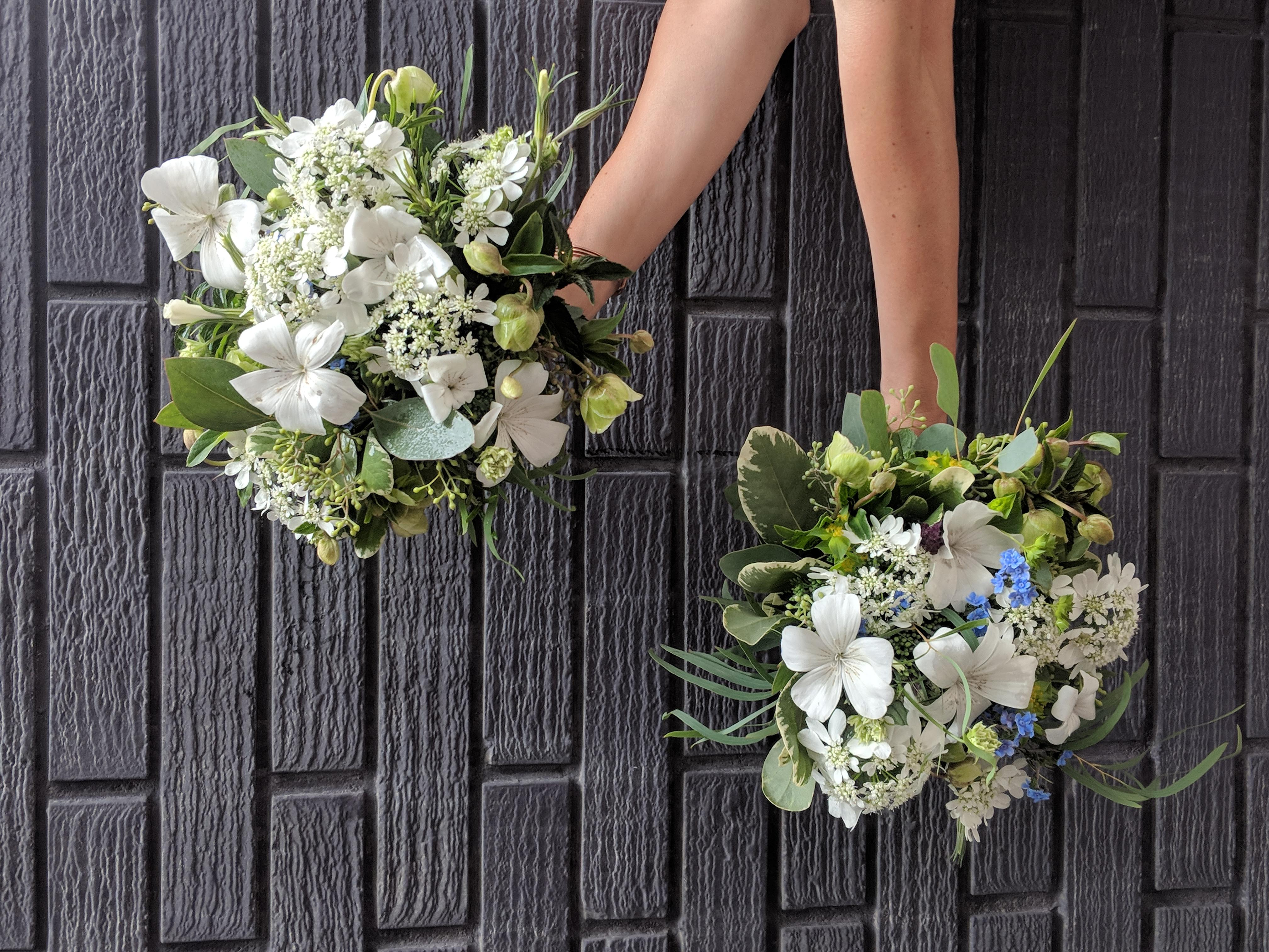 All local flower Bridal Bouquet