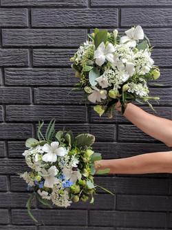 All local flower Bridal Bouquet