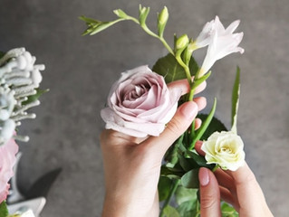 First things First: Flowers need a bit of TLC to live their best life