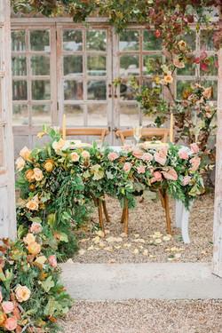 Garden Sweetheart Table