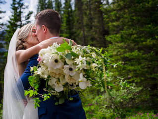Summer Wedding at Cornerstone Theater, Canmore