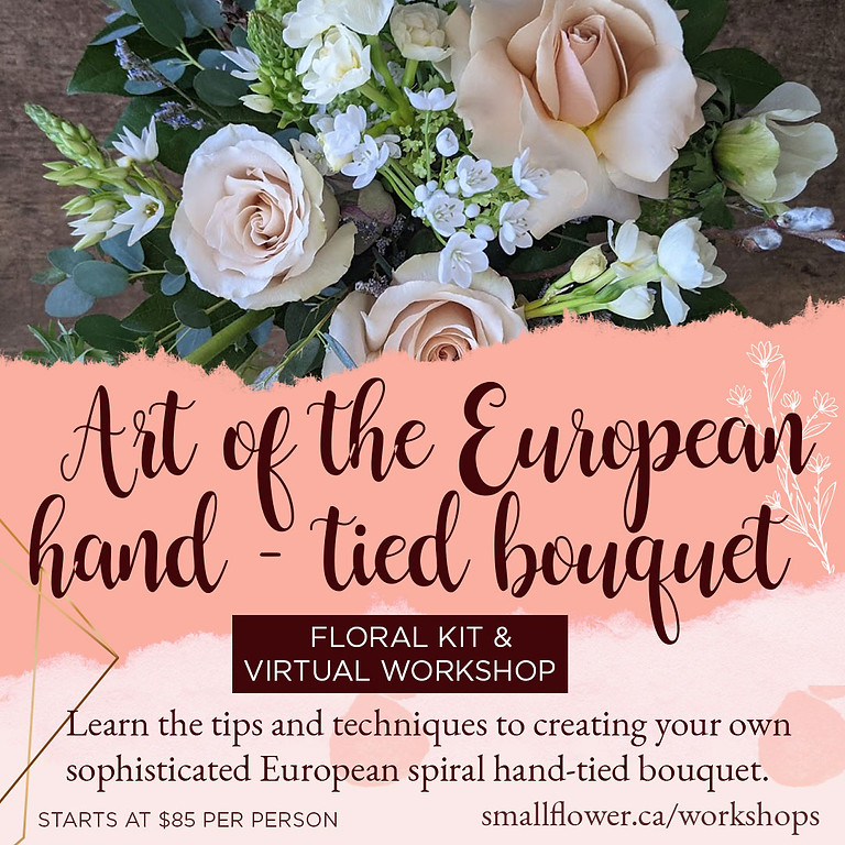 European Hand-tied Kit & Virtual Workshop