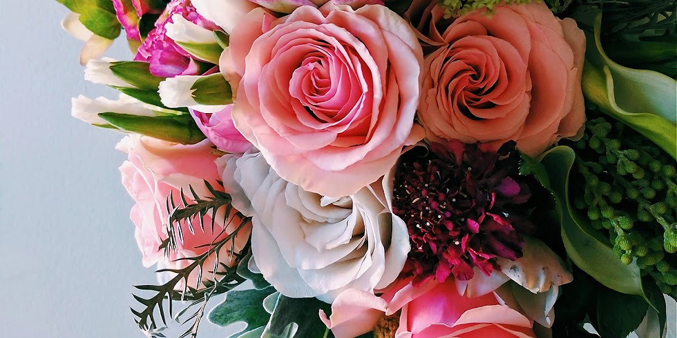 Summer Flower Kit and Virtual Workshop : Sat Aug 15th