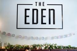 Eden Restaurant Reception Flowers