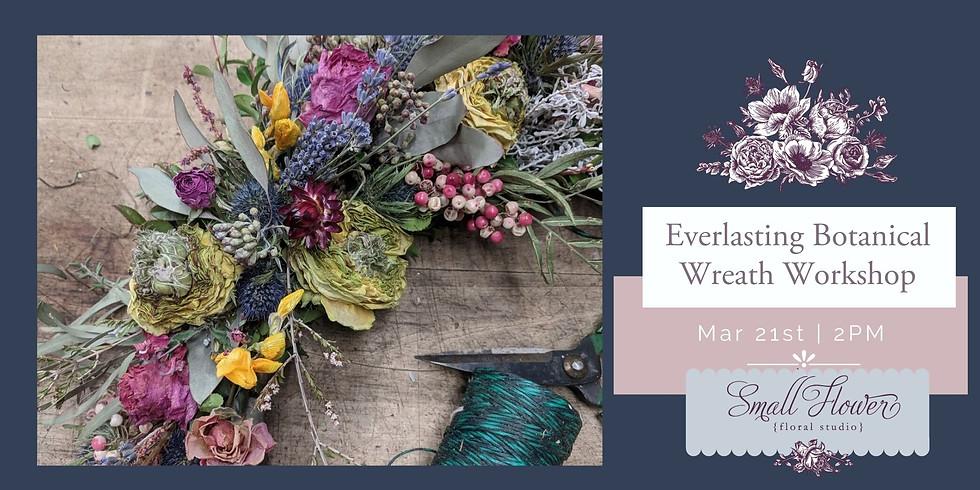 Botanical Dried Wreath Workshop