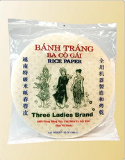 Three Ladies Round Rice Paper