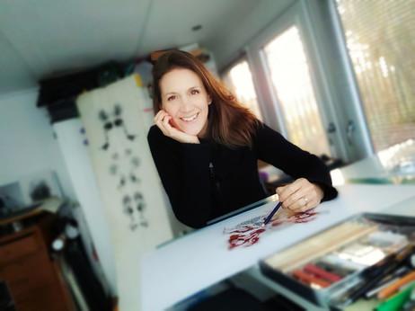 Intervju with konstnären and forskaren Sally Butcher