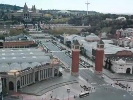 Los Mossos denuncian a un hombre por hacer volar un dron 36 veces en Barcelona en la cuarentena del