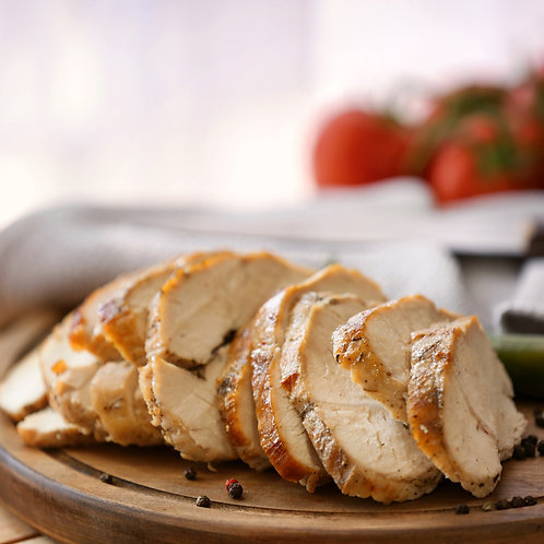 Turkey breast fillet with sage, sourdough & onion stuffing