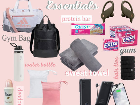 14 Things You Must Have in Your Workout Bag