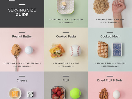 A guide for portion control