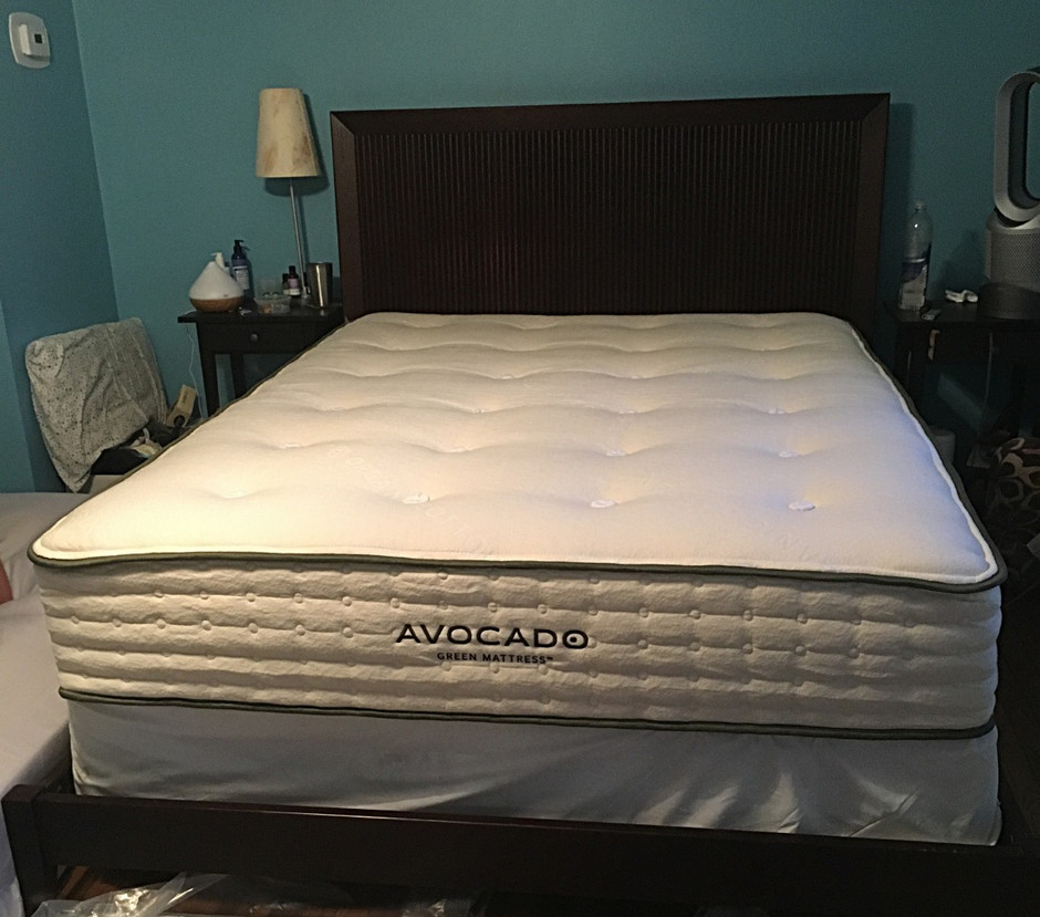 My Non-toxic Avocado Green Mattress Review