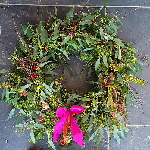 Florist's Choice Natural Door Wreath