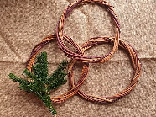 Willow Aged Wreath Base