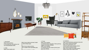 Hanna Brown Living Room - London