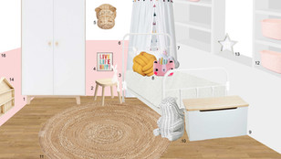Yasmin's daughter bedroom - London