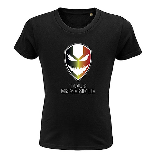 Kids T-shirt-devil-zwart