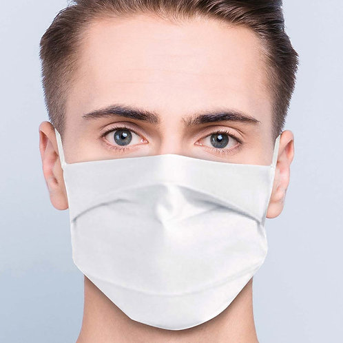Mondmasker Afnor UNS1 - Herbruikbaar en wasbaar met neusklem