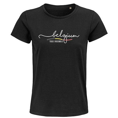 Dames T-shirt-tousensemble-zwart