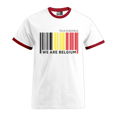 T-shirt-Barcode BELGIUM