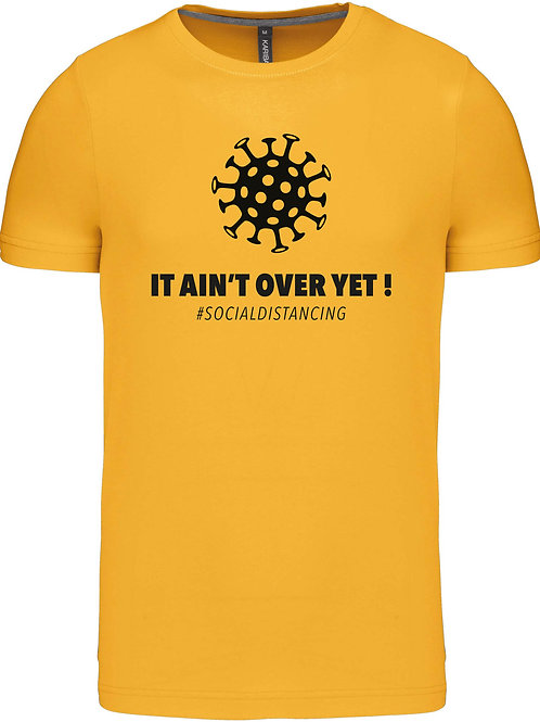 """T-shirt """"It ain't over yet!"""", big"""