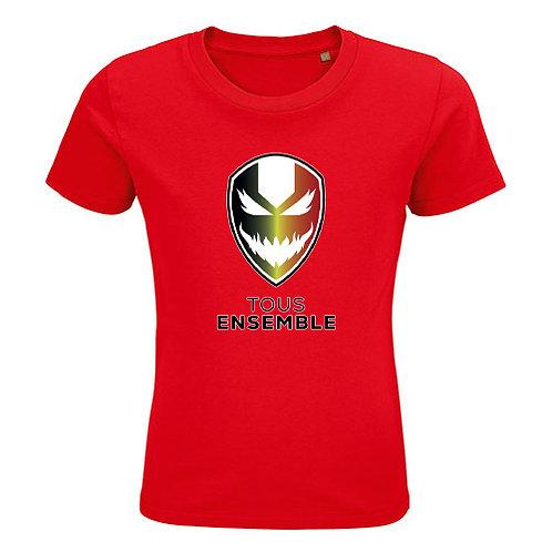 Kids T-shirt-devil-rood