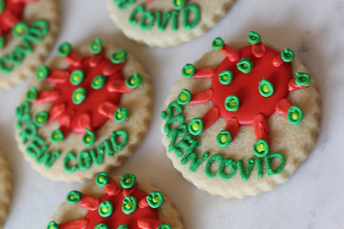 Screw COVID Cookies