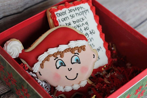Elf and Note Cookie Set